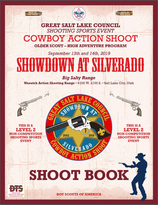 Collecting Guide for Great Salt Lake Council Cowboy Action Shoot Leaders Guide
