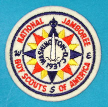 1937 NJ Patch Reproduction