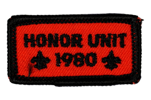 1980 Honor Unit Patch