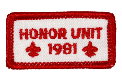1981 Honor Unit Patch