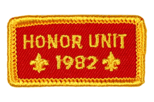 1982 Honor Unit Patch