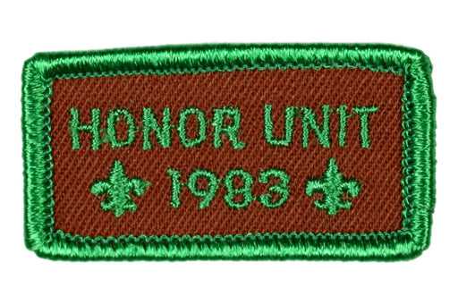 1983 Honor Unit Patch