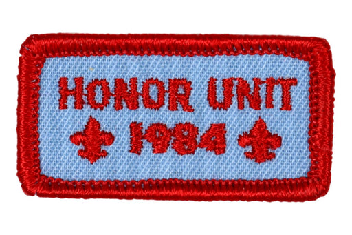 1984 Honor Unit Patch