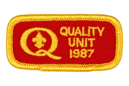 1987 Quality Unit Patch Round Corners