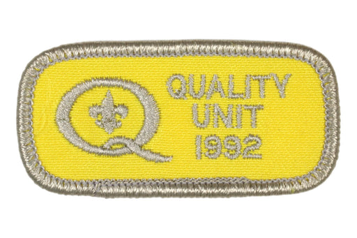 1992 Quality Unit Patch