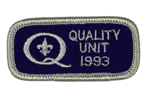 1993 Quality Unit Patch