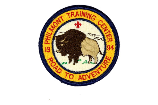 1994 Philmont Road to Adventure Patch