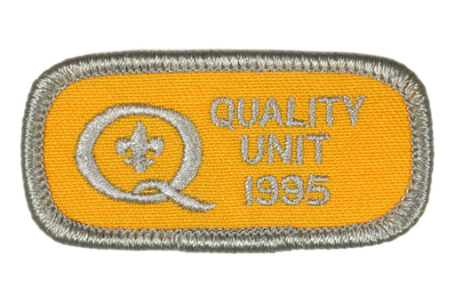 1995 Quality Unit Patch