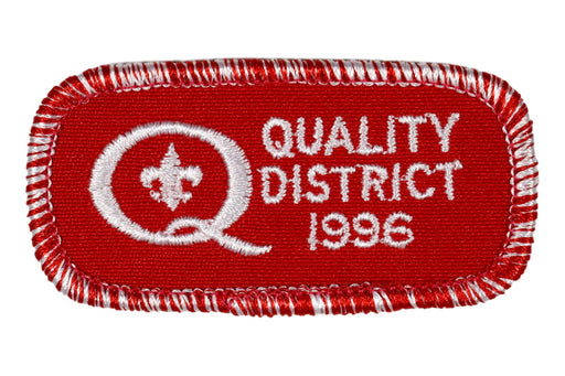 1996 Quality District Patch