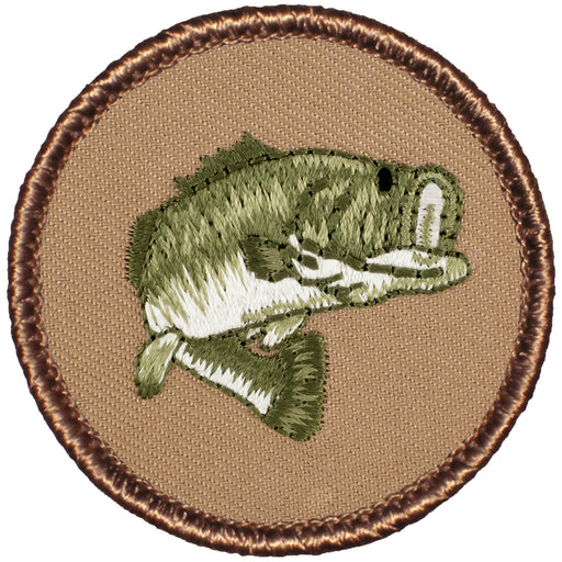 Bass Patrol Patch - Not Flaming