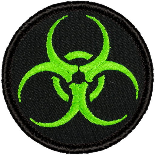 Biohazard Patrol Patch - Neon Green