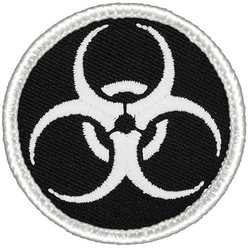 Biohazard Patrol Patch - Glow-In-Dark