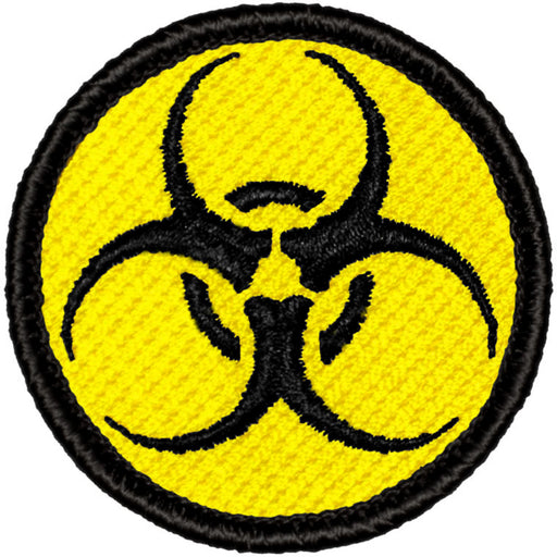 Biohazard Patrol Patch - Yellow & Black
