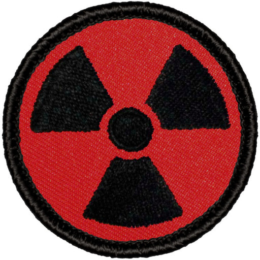 Retro Nuclear/Radioactive Patrol Patch