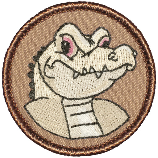 Albino Alligator Patrol Patch