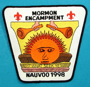 1998 Nauvoo Mormon Encampment Jacket Patch