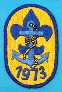 1973 Sea Scout Patch