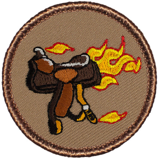Blazing Saddles Patrol Patch