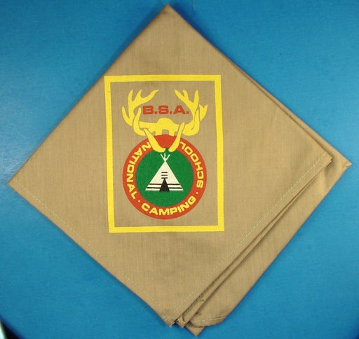 National Camping School Neckerchief