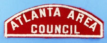 Atlanta Area Council Red and White Council Strip