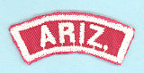 Arizona Red and White State Strip