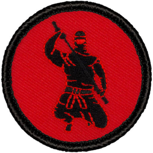 Retro Ninja Silhouette Patrol Patch