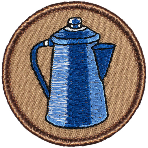 Coffee Pot Patrol Patch - Tan