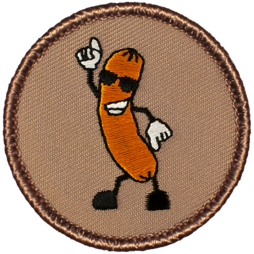 Dancing Hot Dog Patrol Patch