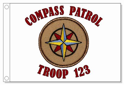 #238 Cardinal Patrol! Cool Boy Scout Patch!