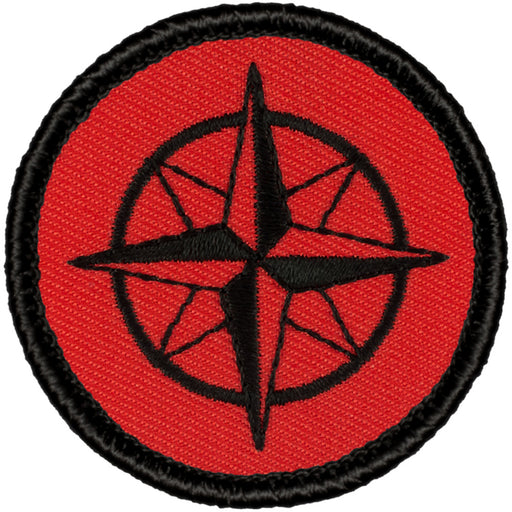 Retro Compass Rose Patrol Patch
