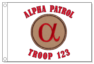 Alpha Patrol Flag