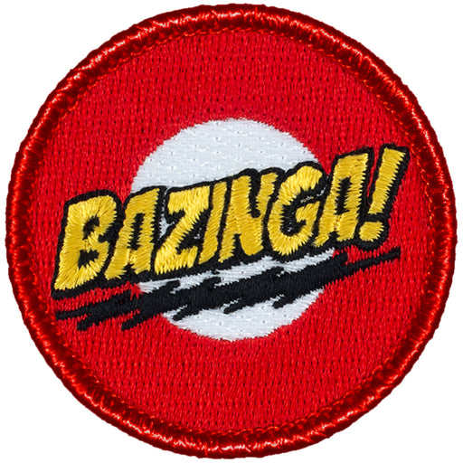 Bazinga Patrol Patch