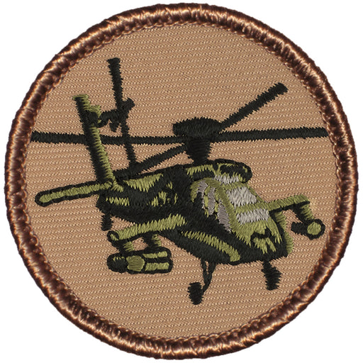 Apache Helicopter Patrol Patch