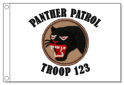 66th Infantry Patrol Flag - Tan