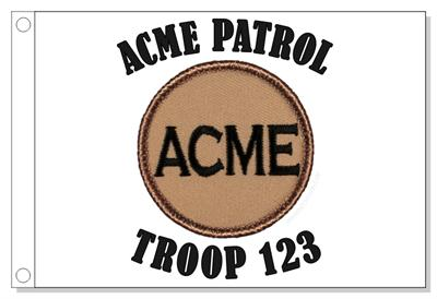 Acme Patrol Flag