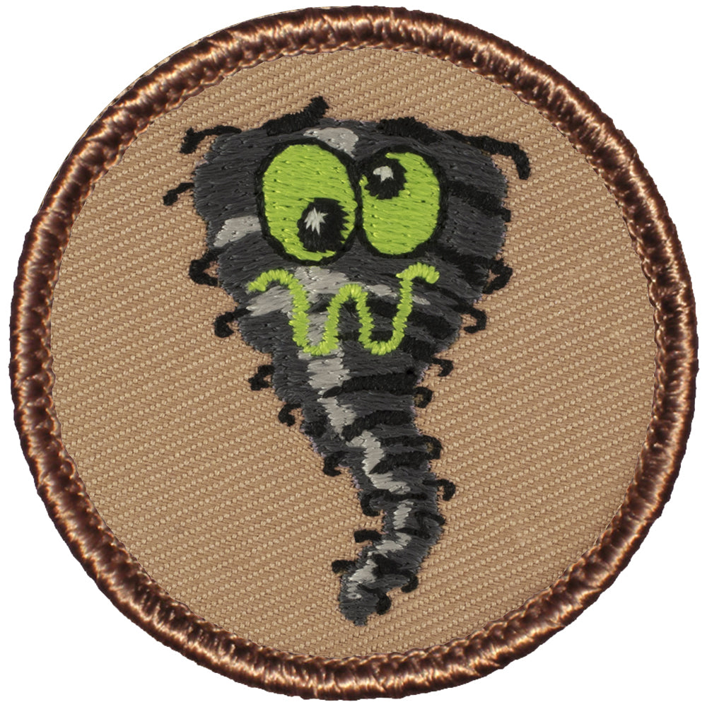 Crazy Hurricane Patrol Patch - Green Eyes