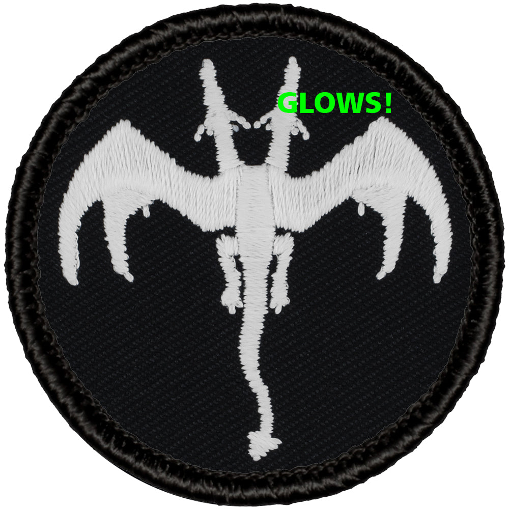 Two Headed Dragon Patrol Patch - Glow in the Dark