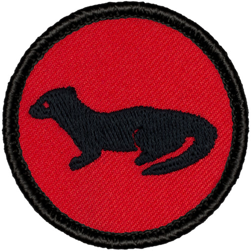 Otter Patrol Patch - Red/Black Retro