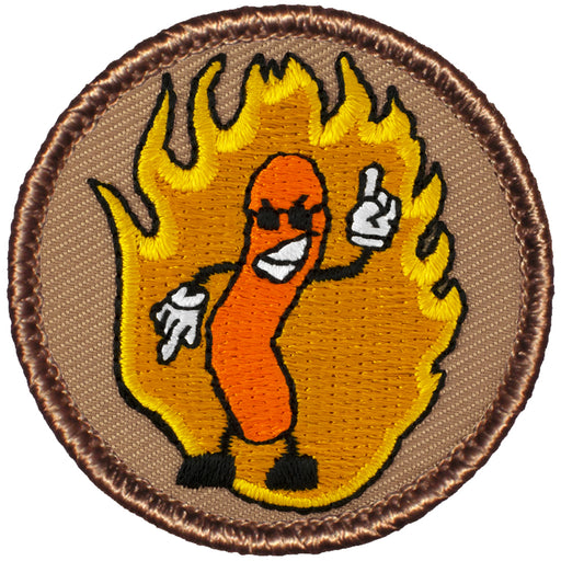 Flaming Cheeto Patrol Patch