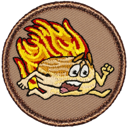 Flaming Biscuit Patrol Patch