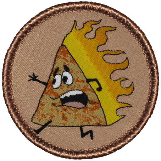 Flaming Corn Chip Patrol Patch