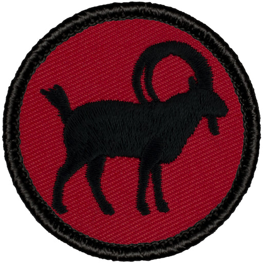 Ibex Patrol Patch - Red/Black Retro