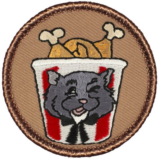 Chicken Fried Chinchillas Patrol Patch