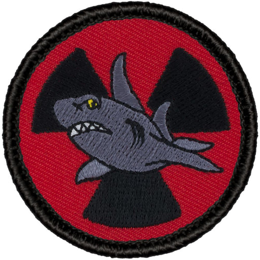 Radioactive Shark Patrol Patch - Retro
