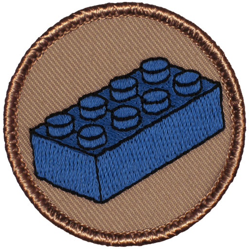 Blue Block Patrol Patch