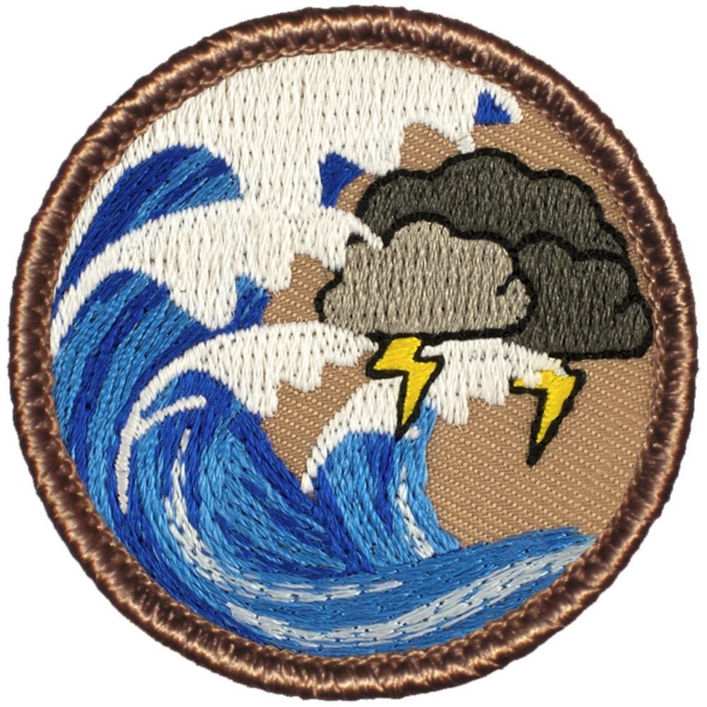Thunder Wave Patrol Patch