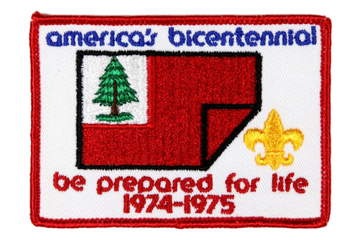 America's Bicentennial Patch Be Prepared