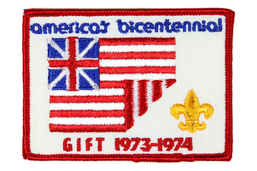 America's Bicentennial Patch Gift