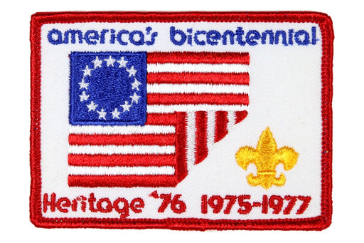 America's Bicentennial Patch Heritage '76
