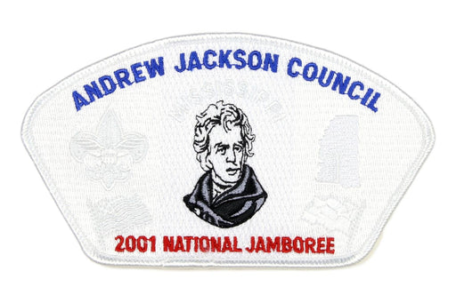 Andrew Jackson JSP 2001 NJ Ghost Background